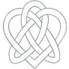 Hand Embroidery Celtic Design