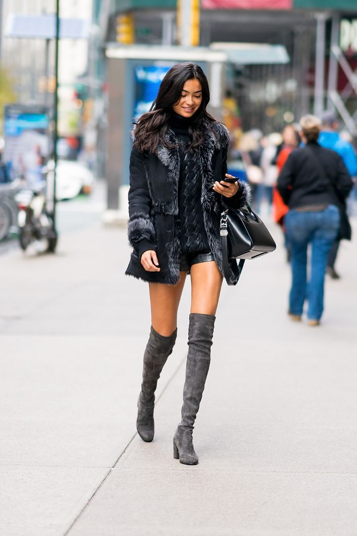 3a06489d8be The One Boot Trend Every Model Wore to the VS Fashion Show Fittings ...