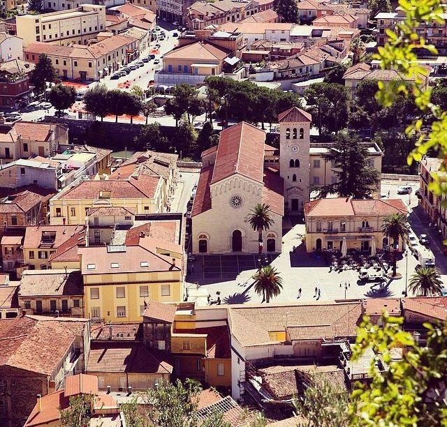 Sora Frosinone Italy. La chiesa Di Santa Restituta.