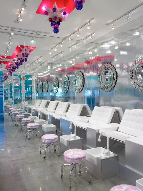 Lace Beauty Lab Miami - designed by Doug MeyerHair Salons, Lace Beautiful, Salons Business, Salons Ideas, Beauty, Chairs Ideas, Fashio Salons, Design, Beautiful Labs