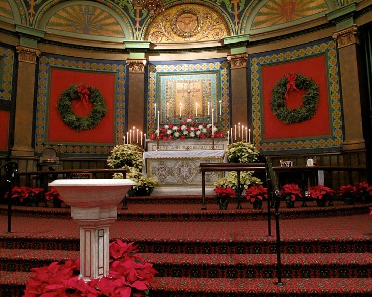 Christmas 2012 at St Mark's Lutheran Church, Baltimore