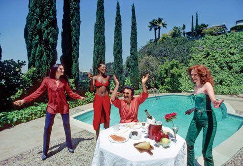Giorgio Moroder living the life, Beverly Hills 1979.
