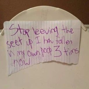 The kid who literally keeps falling in shit. | 22 Youths Who Need To Be Stopped