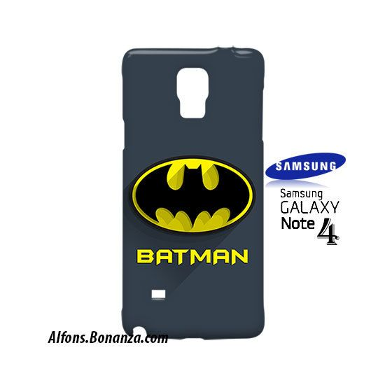 Batman Superhero Samsung Galaxy Note 4 Case