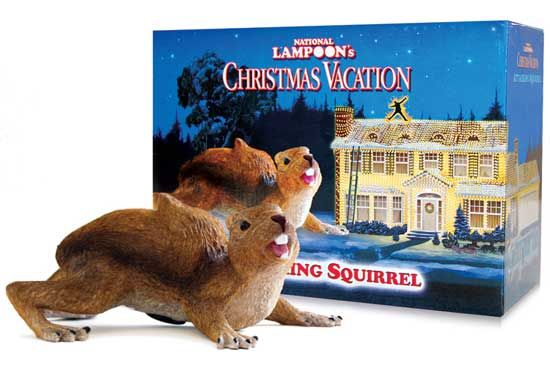 A Christmas Story House Gift Shop - Attacking tree squirrel.  My new tree will have one!