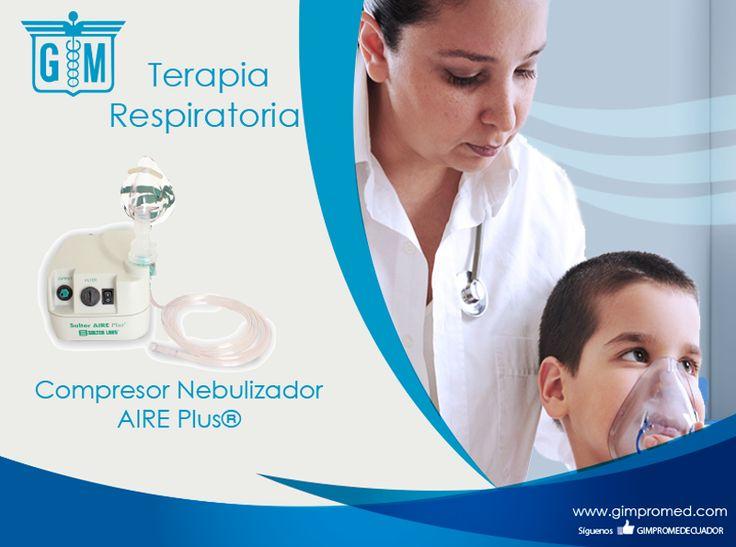 Gimpromed - Catálogo Terapia Respiratoria - Terapia Aerosol Producto: Compresor Nebulizador AIRE Plus