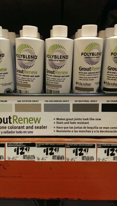 Custom Building Products Polyblend #19 Pewter 8 fl. oz. Grout ...