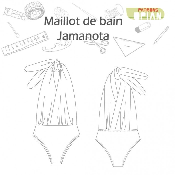 Jamanota Swimsuit - Indie swiss sewing pattern