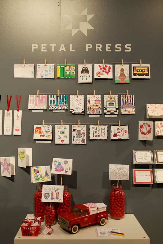 National Stationery Show 2012: Petal Press, Ladies of Letterpress   Photo Credit: Oh So Beautiful Paper