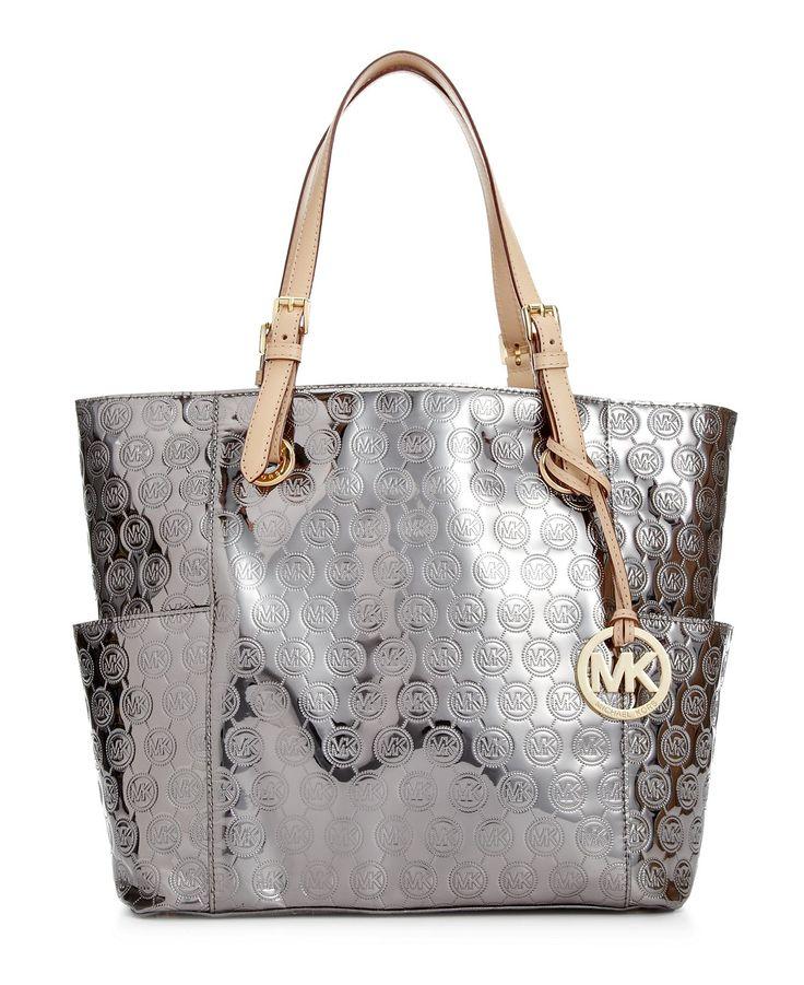 MICHAEL Michael Kors Handbag, Signature Patent East West ...