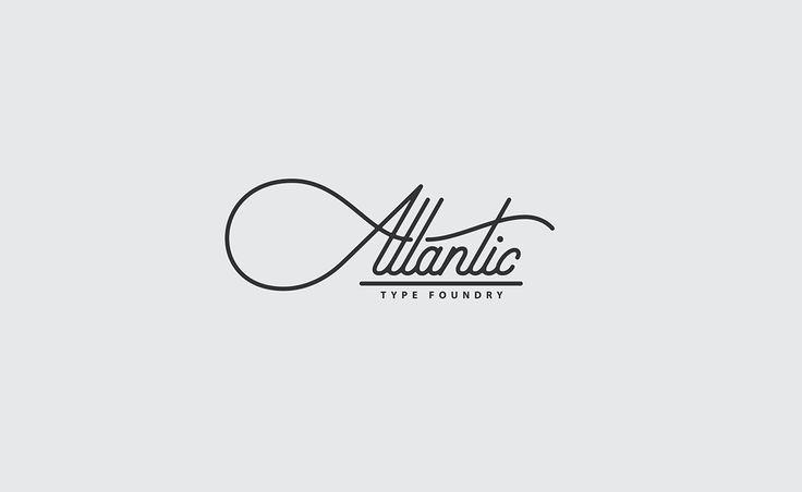 Atlantic Type Foundry #logo by Jeremy Friend