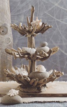 Roost Driftwood Epergne*