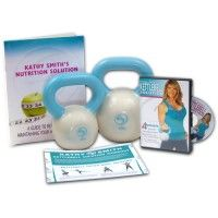 Kettlebell Solution Kit (One 3-Lb Kettlebell, One 5-Lb Kettlebell, Kettlebell Solution DVD) - FREE SHIPPING