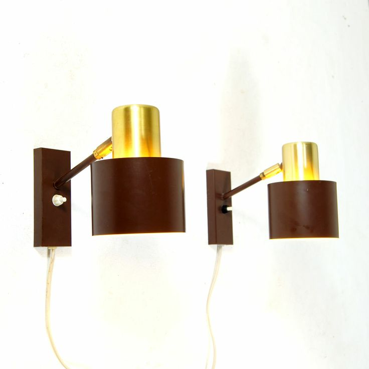 Retro Danish Fog & Morup Jo Hammerborg Wall Lamp Bedside Table Light 60s   What about these for either side of the bed in top floor bedroom???