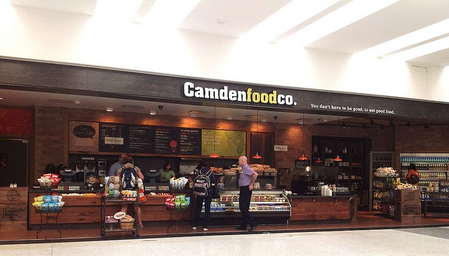 Airport F - CamdenFood Camden food co. opens at George Bush Intercontinental Airport by PortlandDevelopments, via Flickr