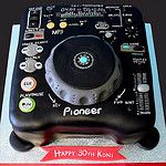 Pioneer DJ Deck by glasgowcakestudio
