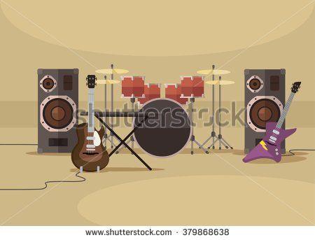 stock-vector-musical-instruments-vector-flat-illustration-379868638.jpg…