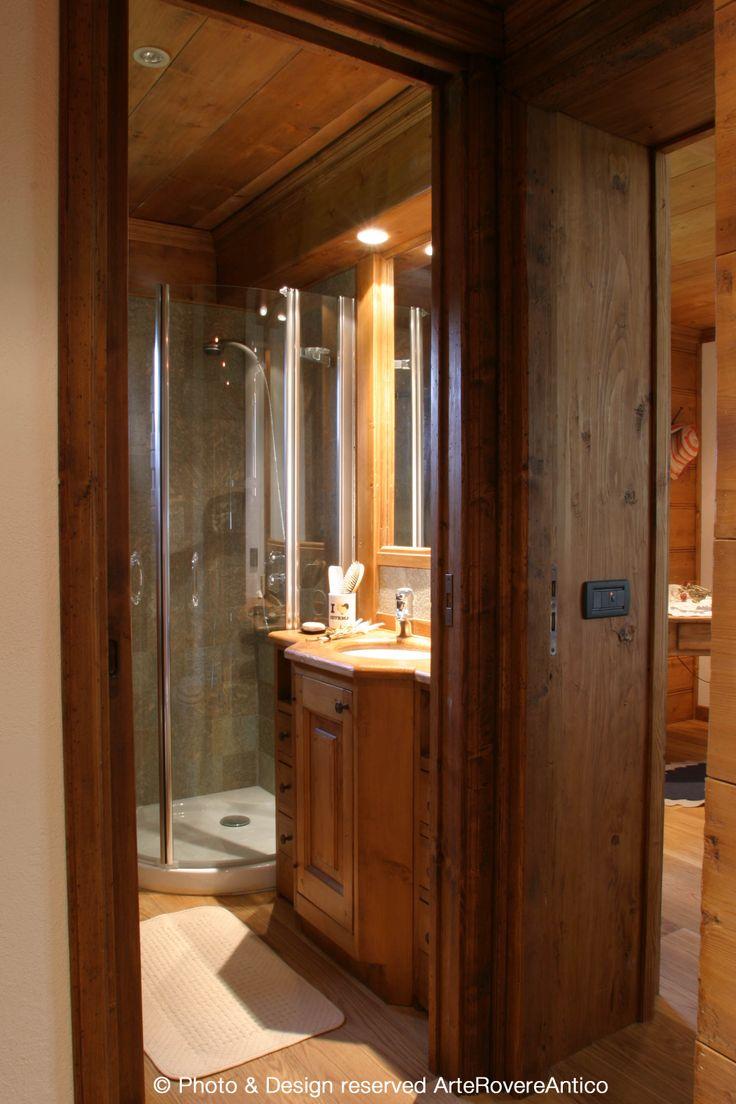 || Arte Rovere Antico - Photo by Duilio Beltramone for Sgsm.it || Casa Mont D'Arbois -  Megeve - France - Wood Interior Design - Mountain House