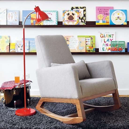 The Land of Nod   Kids Wall Racks: Kids Wooden Book Wall Ledge in Shelf & Wall Storage