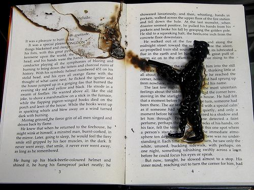 Fahrenheit 451 Old Woman Quote: 22 Best Images About Fahrenheit 451 On Pinterest