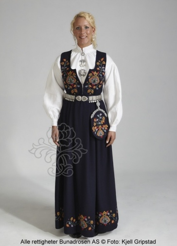 I WILL have my own Norwegian Bunad (costume) some day!