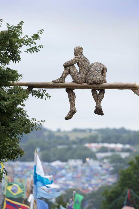 Anna Gillespie: Contemporary Figurative British Sculpture: Welcome