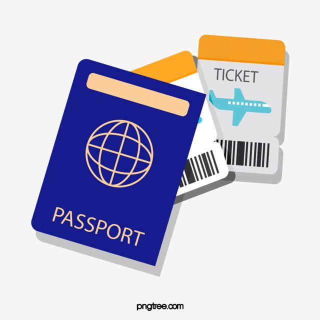 Travel Passport Ticket Passport Clipart Tourism Passport Png And Vector With Transparent Background For Free Download In 2021 Passport Travel Stickers Ticket