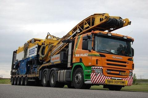 Scania P420 van der vlist groot ammers