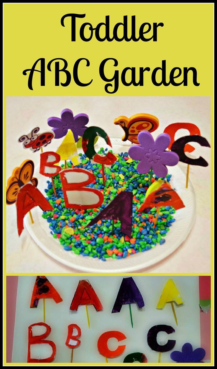 ABC Garden Spring Craft