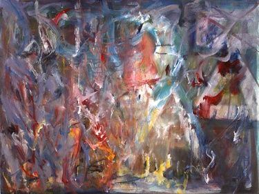 "Saatchi Art Artist Barbara Scott; Painting, "" the red bird sings"" #art"