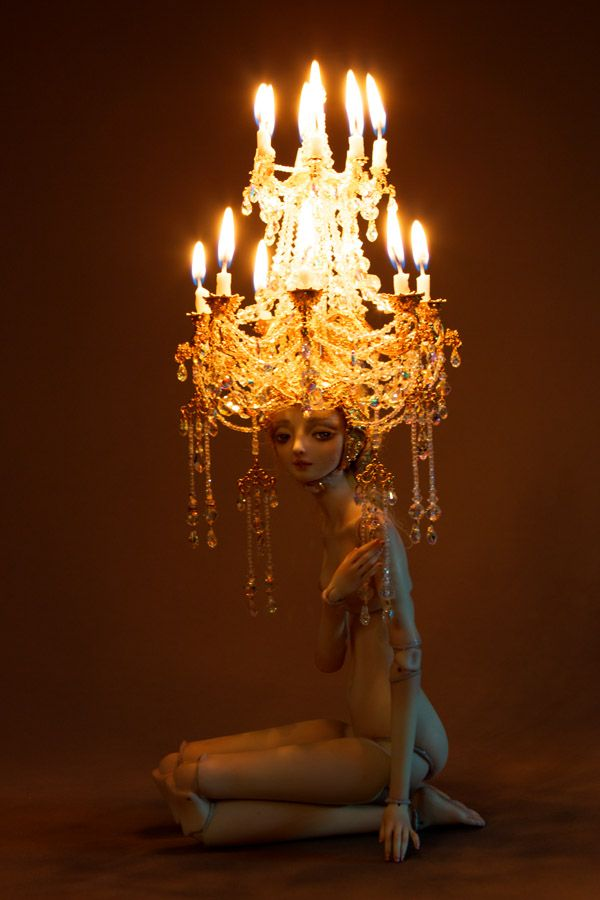 Weight of Light.: Torches, Marina Bychkova, Weights, Enchanted Dolls, Amazing Artists, Tables Lamps, Artists Dolls, Marinabychkova, Art Dolls