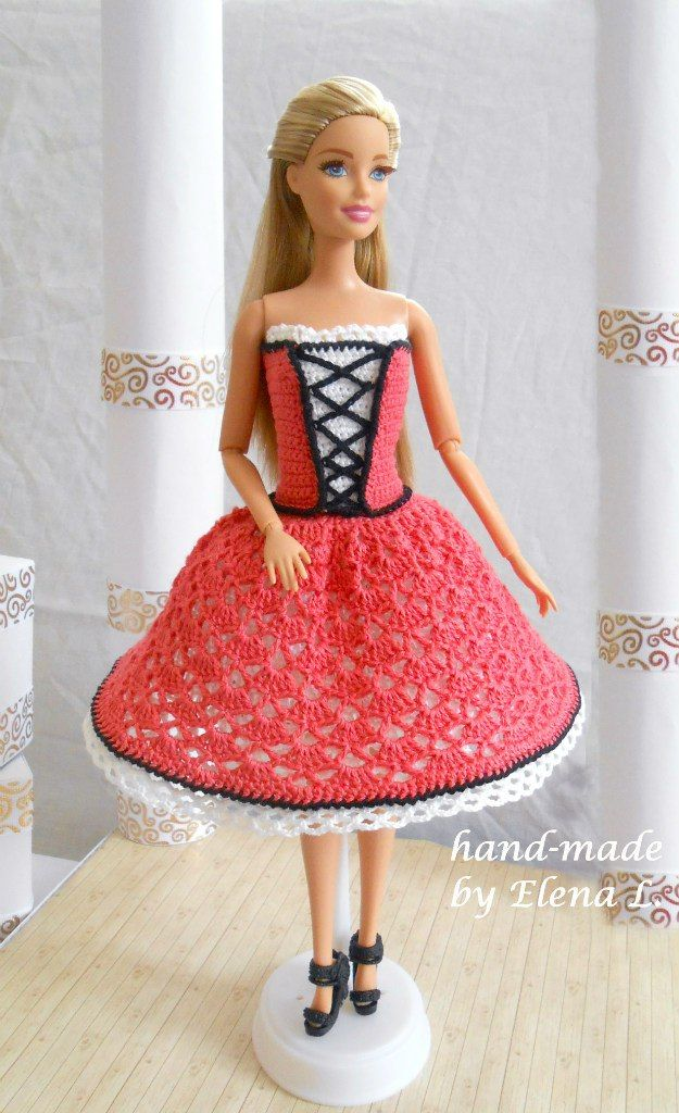 641 best Barbie doll images on Pinterest | Crochet, Barbie doll and ...