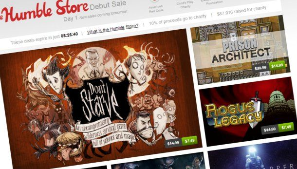 Humble Bundle organisers launch The Humble Store, celebrate with a debut sale