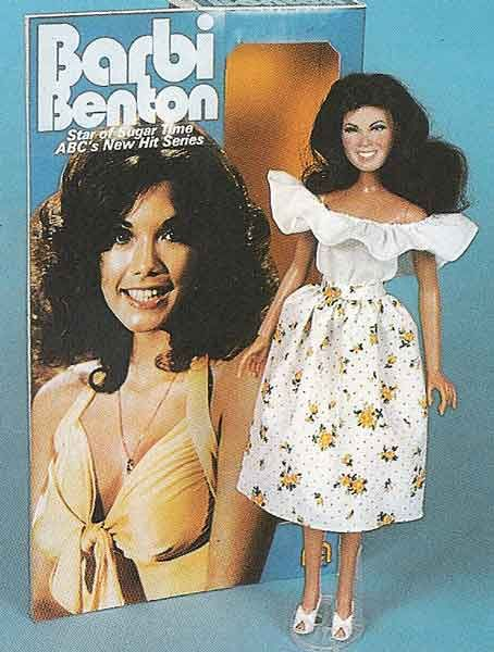 I didn't know Mego included Barbi Benton as part of their celebrity fashion doll line.