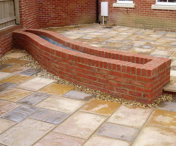 brick raised bed garden - Google Search