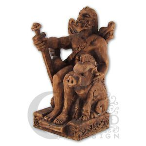 Seated Freyr Statue | Dryad Designs | Norse God | Pagan Asatru Viking Wicca