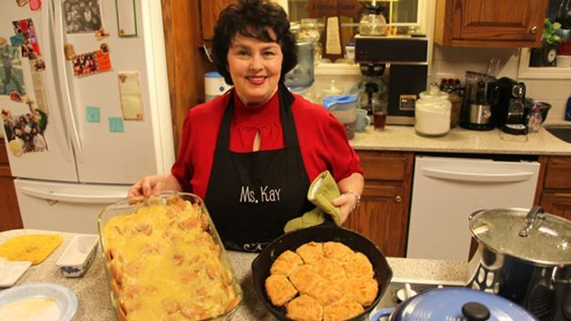 Miss Kay Robertson's famous biscuits recipe