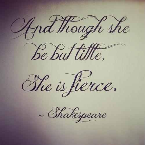 cute shakespeare quotes