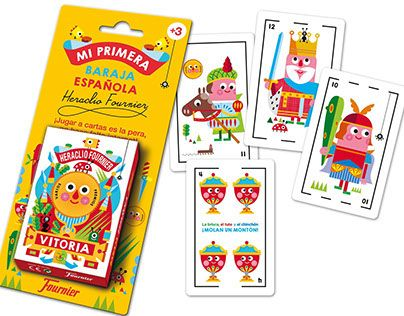 """Check out new work on my @Behance portfolio: """"Fournier´s Spanish deck cards by Stocklina"""" http://on.be.net/1C8m95O"""