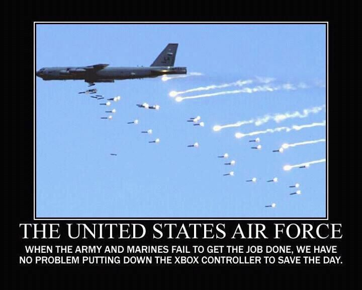 Hate to admit it... ground superiority is closely related to air superiority....