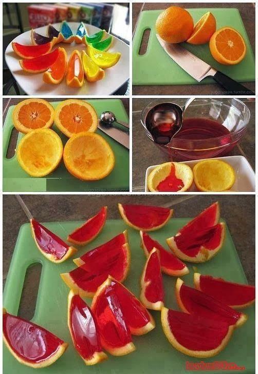 MENTŐÖTLET - kreáció, újrahasznosítás: Narancshéjas gyümölcskocsonya