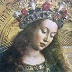 Mary with crown