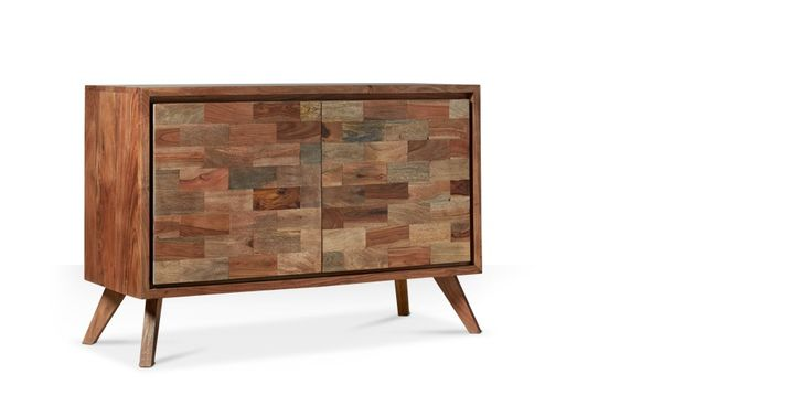 Swoon Editions Sideboard, Contemporary style in rosewood and acacia - £349