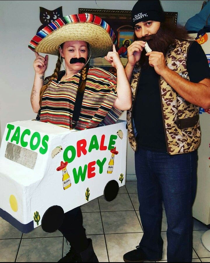 halloween costume taco truck more - Mexican Themed Halloween Costumes