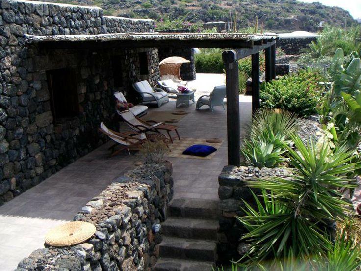 Il patio - Dammuso Le Volte