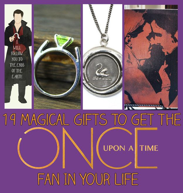 """19 Magical Gifts To Get The """"Once Upon A Time"""" Fan In Your Life. I need all of these"""