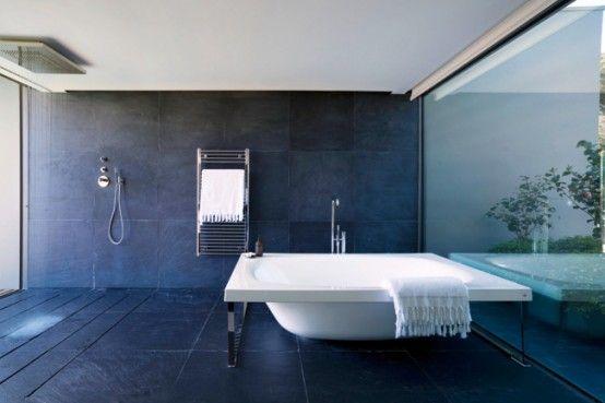 this bathroom is gorgeousShower Head, Design Ideas, Awesome Bathroom, Glasses Wall, Bathroom Designs, Ideal Bathroom, Bathroom Ideas, Minimalist Bathroom, Wet Bathroom