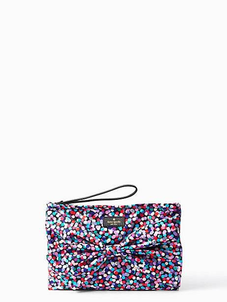 on purpose nylon wristlet | Kate Spade New York