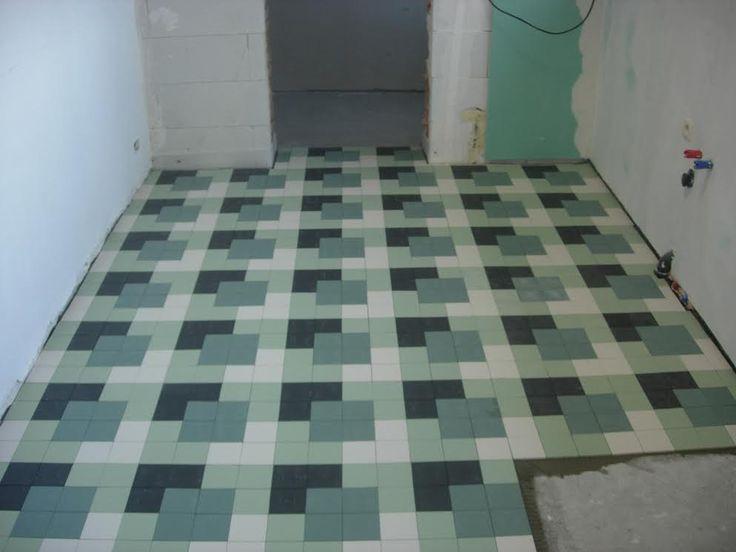 Winckelmanspatroon hedendaags dambord winckelmans for 1930 floor tiles