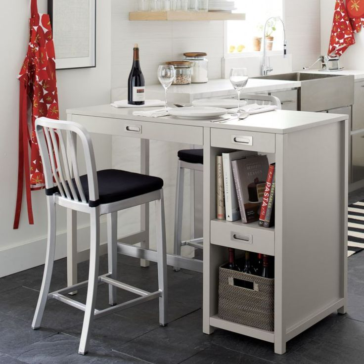 Wabash High Dining Table | Crate And Barrel